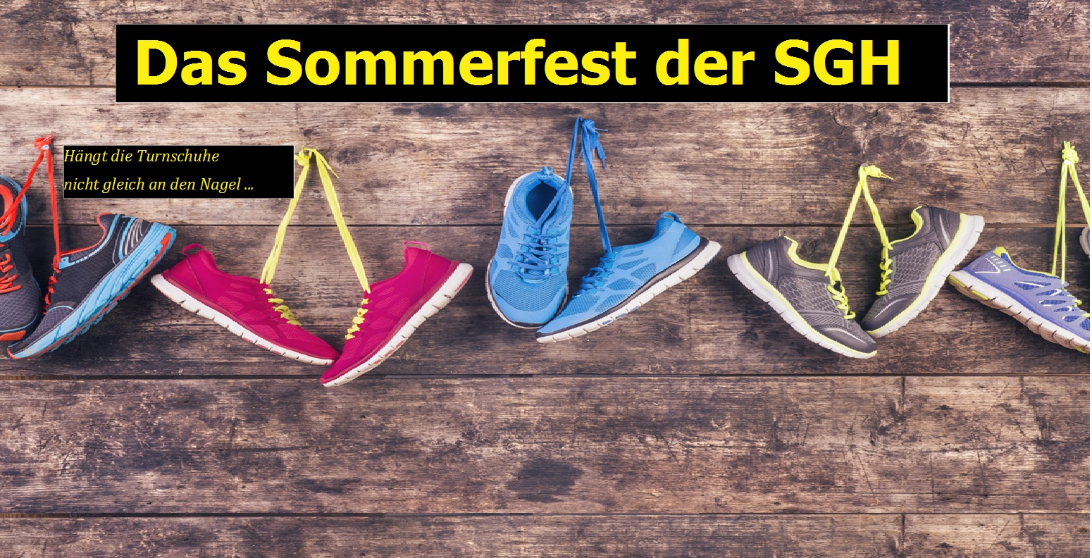 Absage Sommerfest